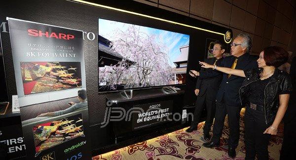 MANTAP! Sharps Luncurkan TV Aquos Berbasis Android - JPNN.COM