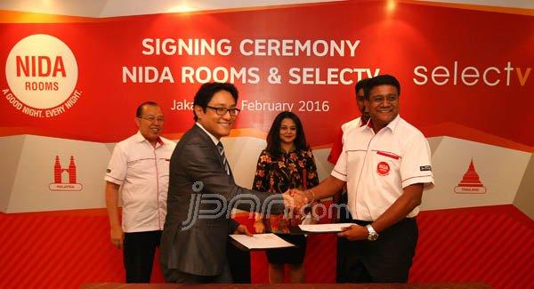 Tingkatkan Kualitas, NIDA Rooms Gandeng SelecTV - JPNN.COM