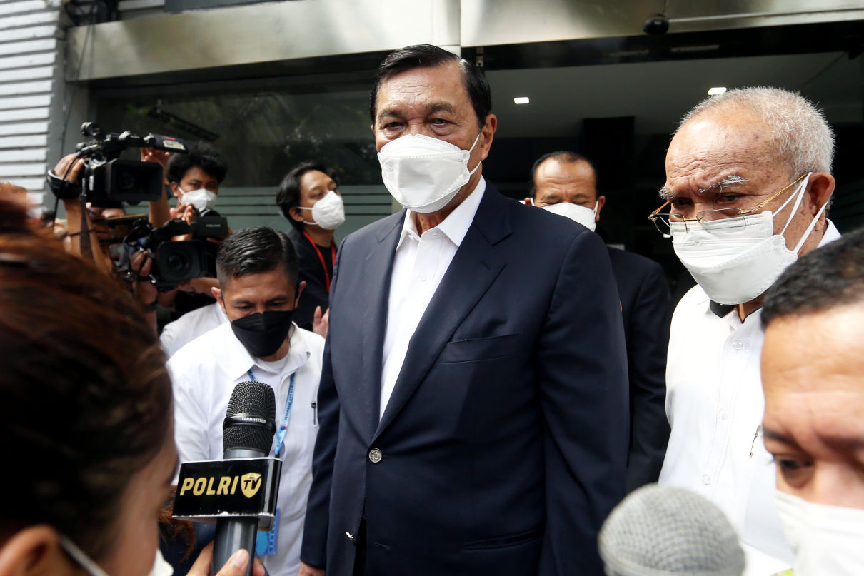 Luhut Binsar Ingatkan Haris Azhar, Keras! - JPNN.com