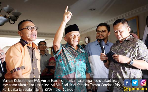 Amien Rais Difitnah, Pimpinan KPK Terancam Dipolisikan - JPNN.COM