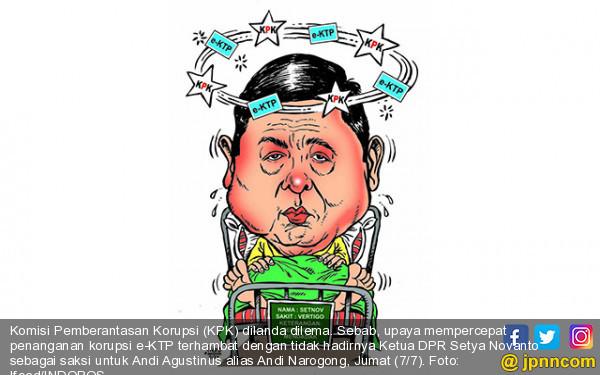 Setnov Tak Hadir, Pengusutan e-KTP Terhambat - JPNN.COM