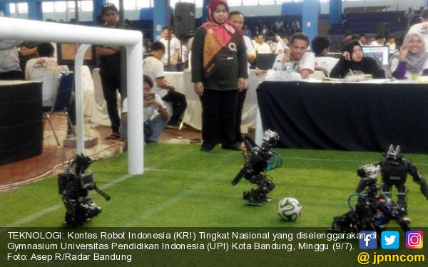 Kontes Robot Indonesia Digelar di UPI - JPNN.COM