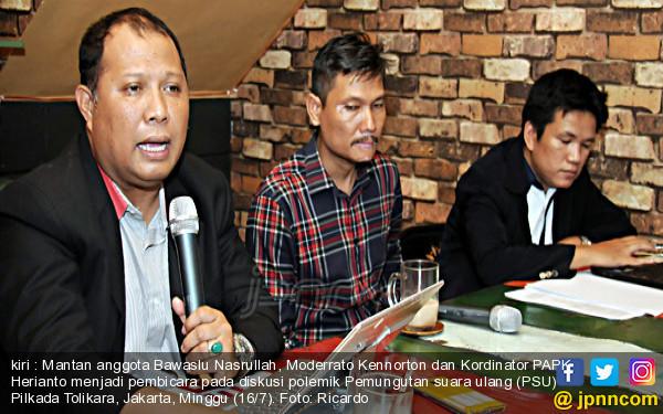 Diskusi Polemik Pemungutan Suara Ulang Pilkada Tolikara - JPNN.COM