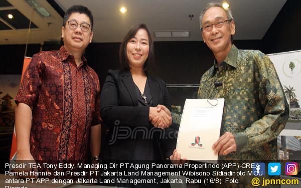 Kerjasama CREA Dengan Jakarta Land Management - JPNN.COM