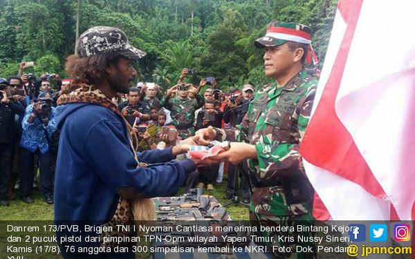 Anggota dan Simpatisan OPM Kembali ke NKRI - JPNN.COM