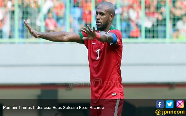 Pemain Timnas Indonesia Boas Salossa - JPNN.COM
