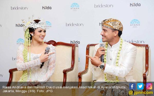 Raisa dan Hamish Daud - JPNN.COM