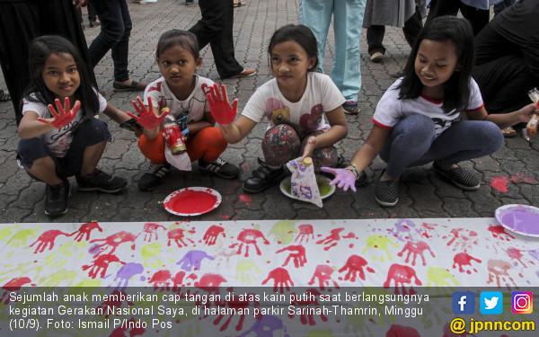 Cap Tangan Anak Indonesia Untuk Rohingya - JPNN.COM