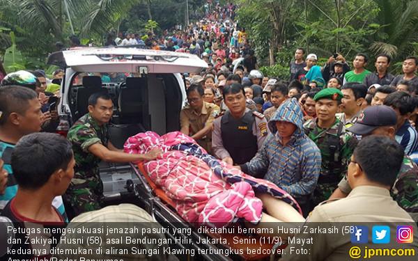 Penemuan Mayat Pasutri di Sungai Klawing - JPNN.COM