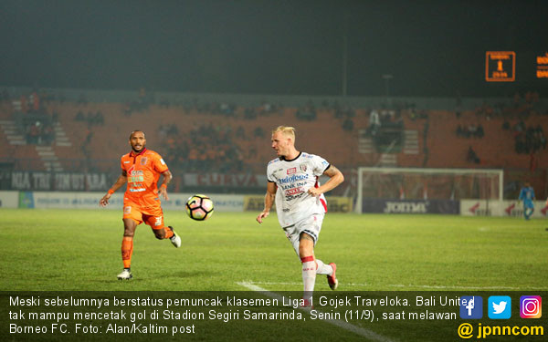 Hasil Akhir Borneo FC vs Bali United Skor 0-0 - JPNN.COM