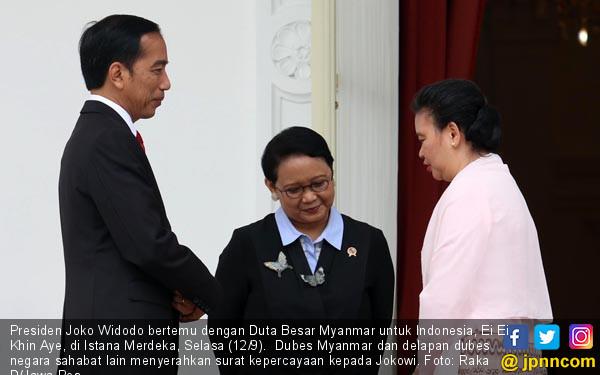 Presiden Bertemu Dubes Myanmar - JPNN.COM