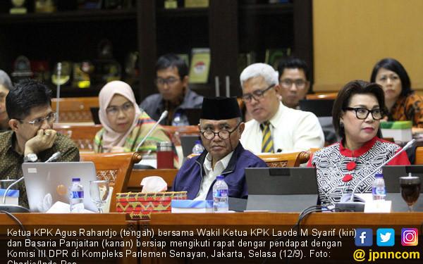 RDP Lanjutan KPK-Komisi III - JPNN.COM
