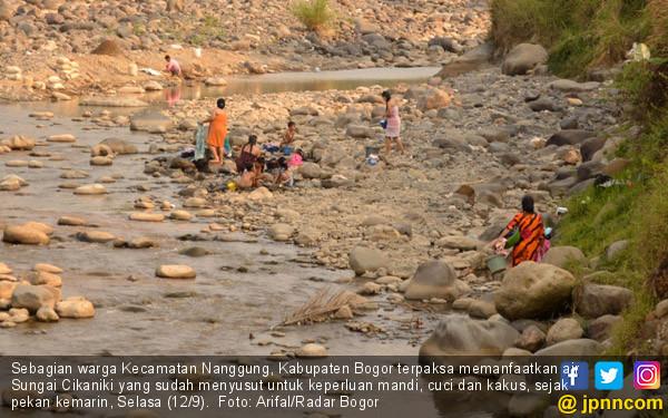 Kekeringan Melanda Wilayah Kabupaten Bogor - JPNN.COM