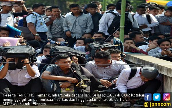 Pelamar CPNS Kemenkumham - JPNN.COM