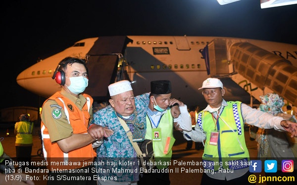 Sujud Syukur Warnai Kedatangan Jamaah Haji - JPNN.COM