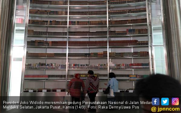 Presiden Jokowi Resmikan Gedung Perpustakaan Nasional - JPNN.COM