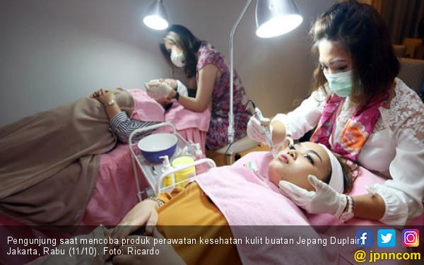 Peluncuran Produk Perawatan Kesehatan Kulit Duplair - JPNN.COM