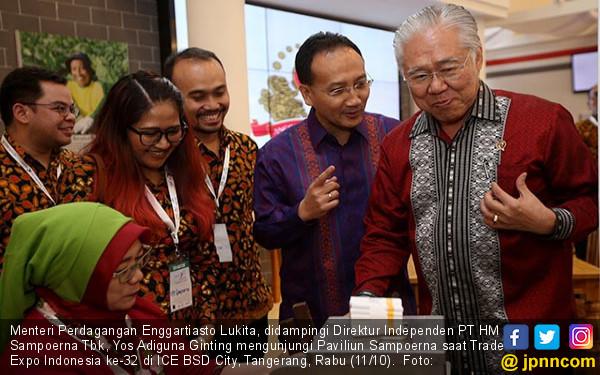 Mendag Kunjungi Trade Expo Indonesia ke-32 - JPNN.COM
