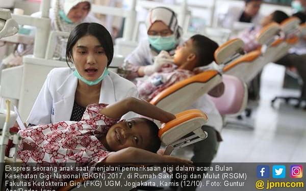 Bulan Kesehatan Gigi Nasional 2017 - JPNN.COM