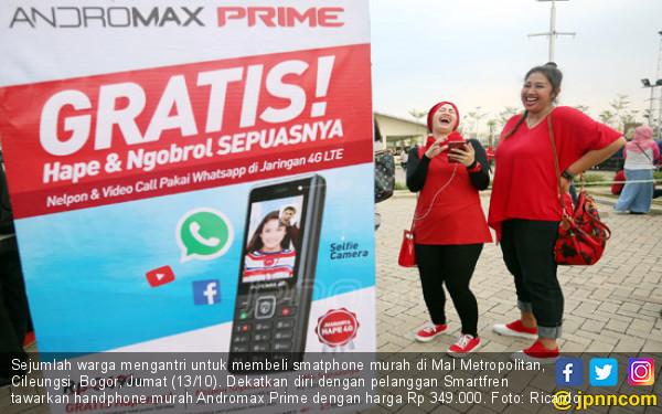 Smartfren Hadirkan Handphone Murah - JPNN.COM