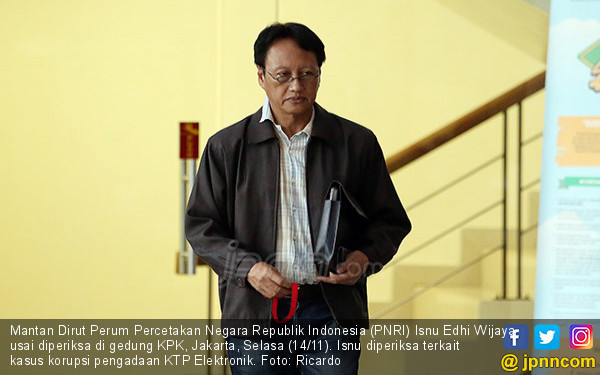 Mantan Dirut PNRI Isnu Edhi - JPNN.COM