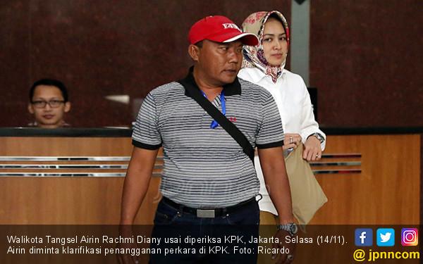KPK Panggil Airin Rachmi Diany - JPNN.COM