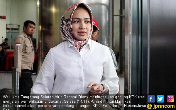 KPK Periksa Wali Kota Tangsel Airin Rachmi - JPNN.COM