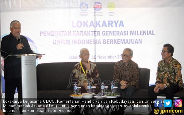 Lokakarya Penguatan Karakter Generasi Milenial untuk Indonesia Berkemajuan - JPNN.COM