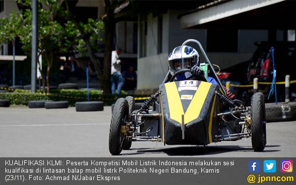 Kompetisi Mobil Listrik Indonesia 2017 - JPNN.COM