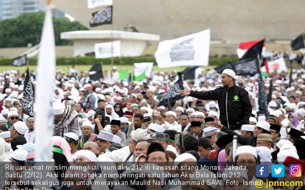 PA 212 Kocok Ulang Capres dan Cawapres Penantang Jokowi - JPNN.COM