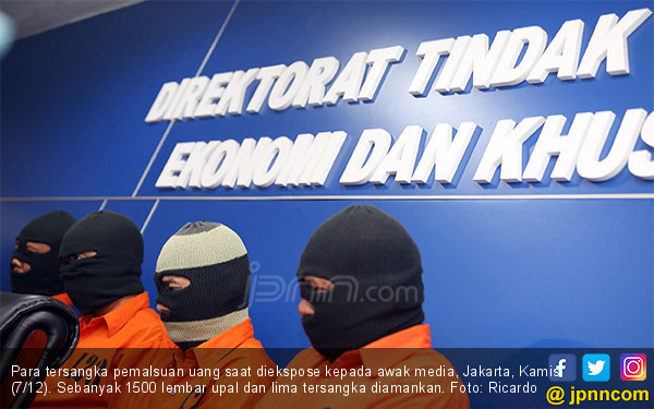 Dirtipideksus Bareskrim Polri Bongkar Sindikat Upal - JPNN.COM