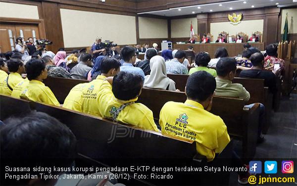Suasana Sidang Setya Novanto - JPNN.COM