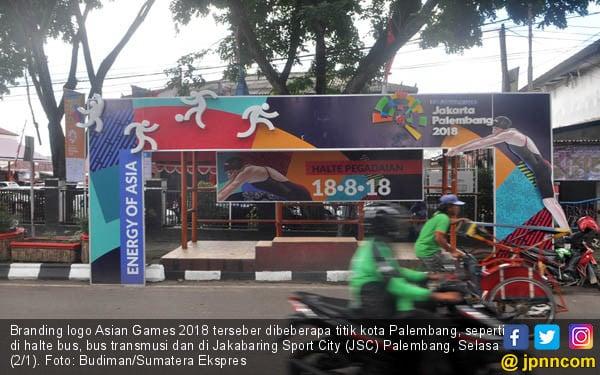 Branding Logo Asian Games 2018 - JPNN.COM