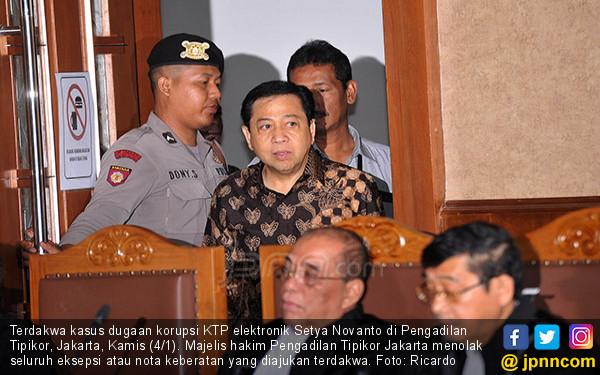 Lagi, Setnov Jalani Sidang Kasus e-KTP - JPNN.COM
