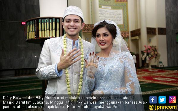 Sah, Rifky Balweel dan Biby Alraen Resmi Menikah - JPNN.COM