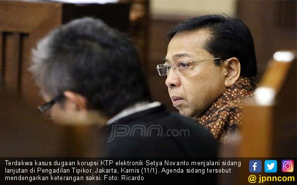 Setya Novanto Kembali Jalani Sidang - JPNN.COM