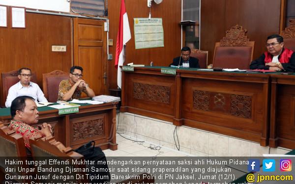Sidang Praperadilan Kasus Sengketa Tanah - JPNN.COM