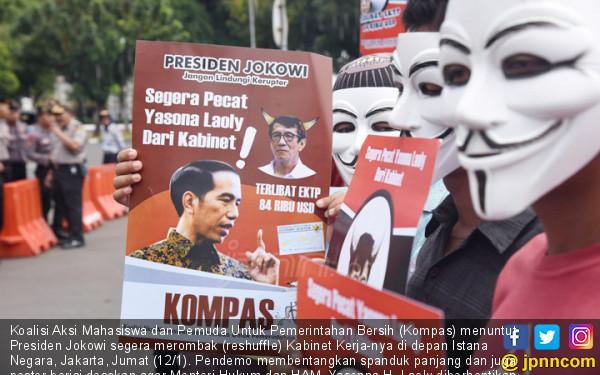 Desak Jokowi, Segera Berhentikan Menkumham - JPNN.COM