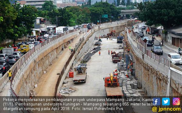 Proyek Underpass Mampang - JPNN.COM