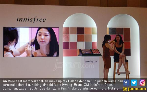 Innisfree Luncurkan Rangkaian Make Up My Palette - JPNN.COM