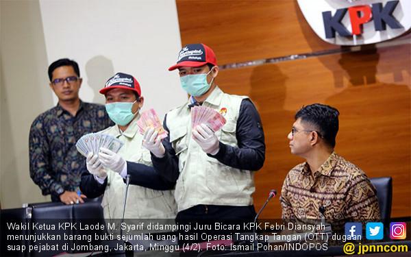 KPK Ekspose Kasus OTT di Jombang - JPNN.COM