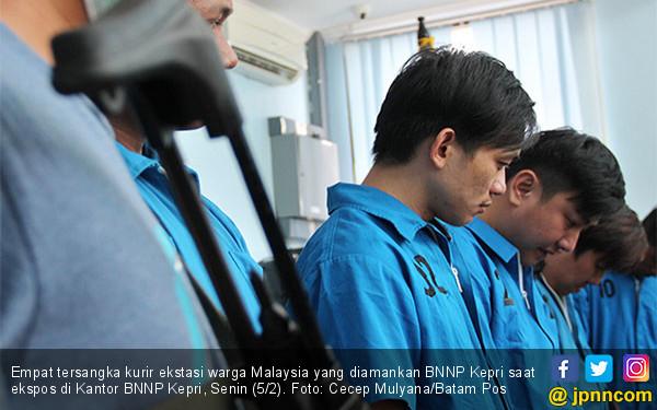 BNNP Kepri Ringkus Empat Kurir Narkotika - JPNN.COM
