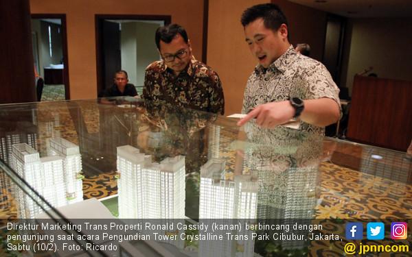 Pengundian Tower Crystalline Trans Park Cibubur - JPNN.COM