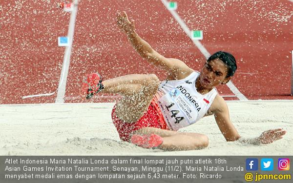 Lihatlah, Maria Londa Melompat Demi Indonesia - JPNN.COM
