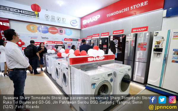 Sharp Tomodachi Store - JPNN.COM