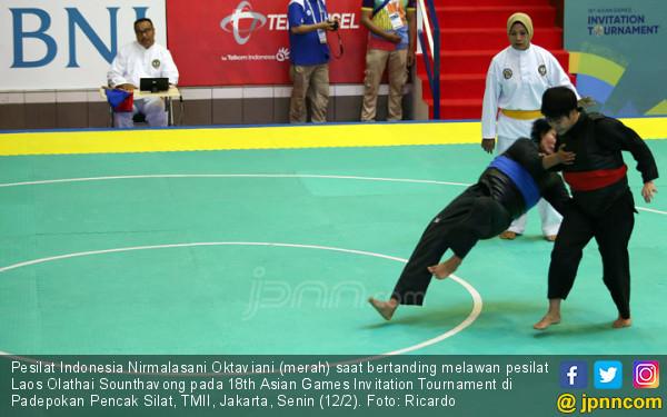 Pesilat Indonesia Nirmalasani Oktaviani - JPNN.COM