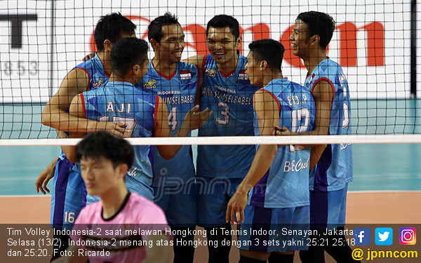 Tim Volley Indonesia 2 Taklukkan Hongkong - JPNN.COM