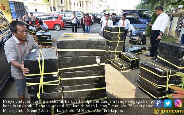 Kepolisian Jambi Gagalkan Aksi Penyelundupan - JPNN.COM