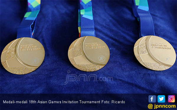 Medali 18th Asian Games Invitation Tournament - JPNN.COM