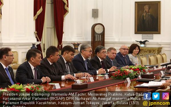 Presiden Terima Delegasi Parlemen Kazakhstan - JPNN.COM